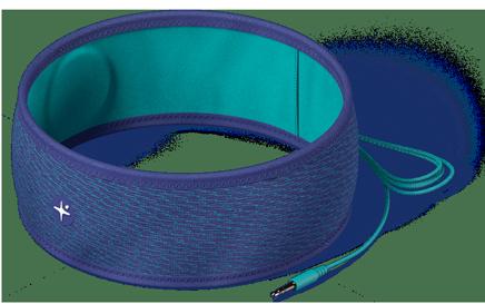 Pour encore plus de confort le tissu renferme une mousse (thermoformée) qui accueille les écouteurs plats. Vous pouvez retirer cette mousse pour ajuster les écouteurs avec l'emplacement de vos oreilles.